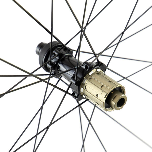 P19 Disc Thru Axle Hub Freehub Detail