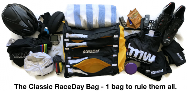 RaceDay Bag Contents
